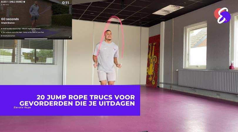 20 Jump Rope trucs voor gevorderden die je uitdagen
